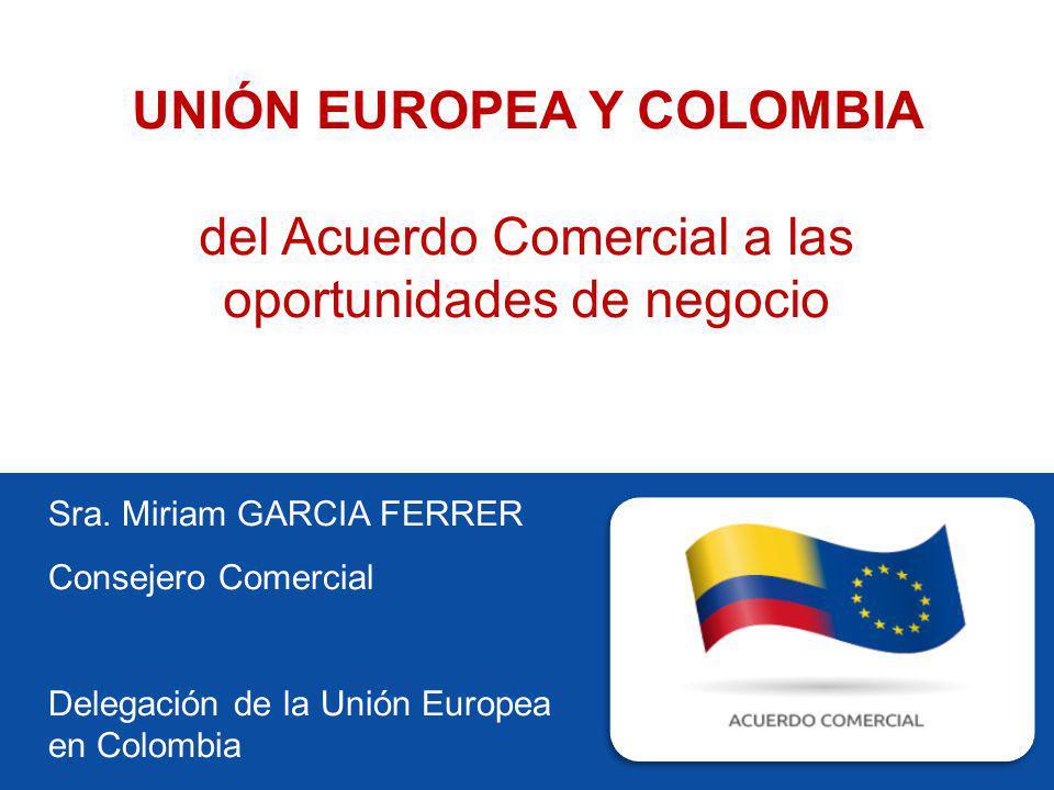 UNIÓN EUROPEA Y COLOMBIA