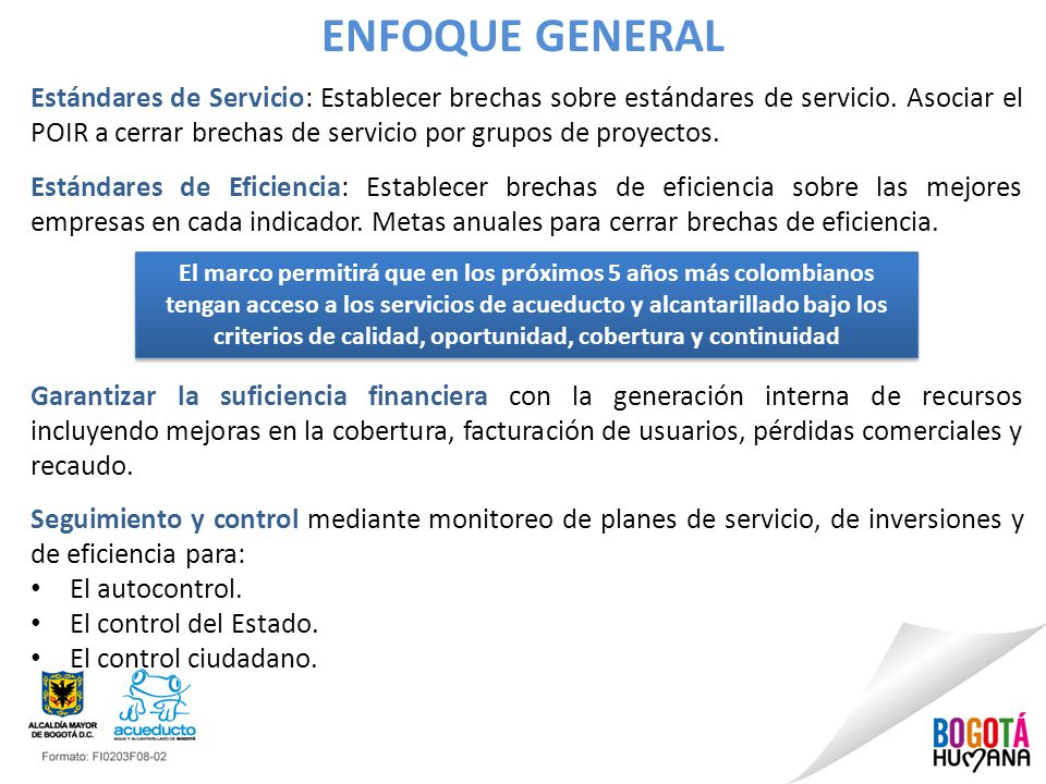 ENFOQUE GENERAL