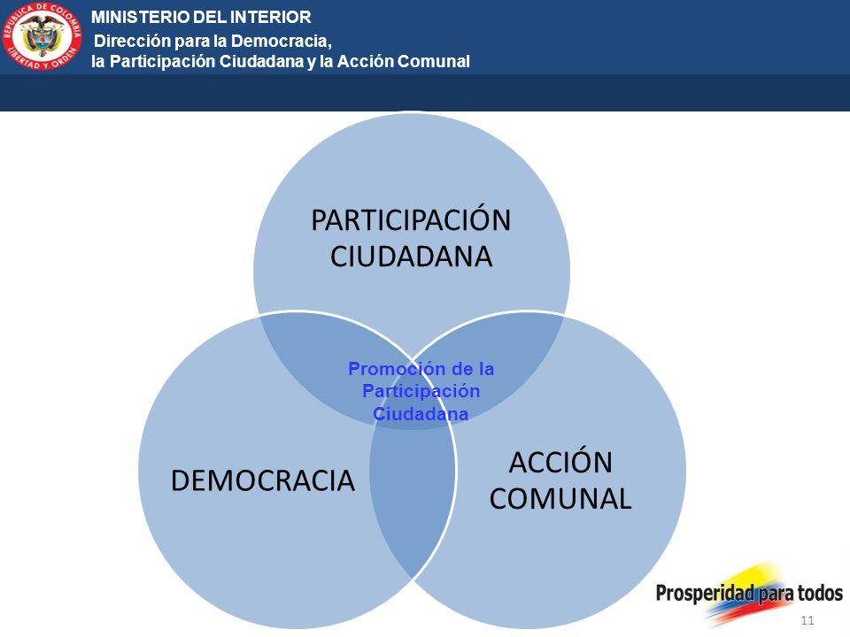 Promoción de la Participación Ciudadana