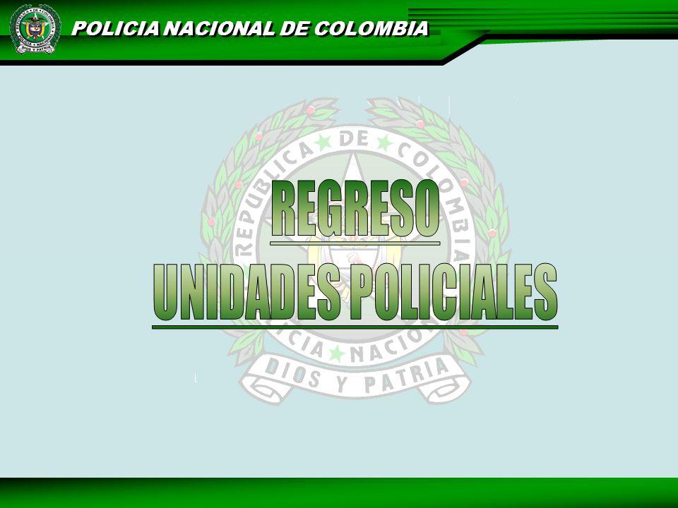 REGRESO UNIDADES POLICIALES