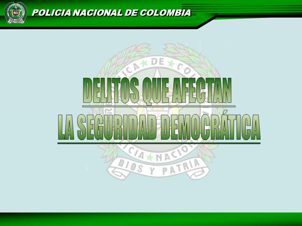 LA SEGURIDAD DEMOCRÁTICA