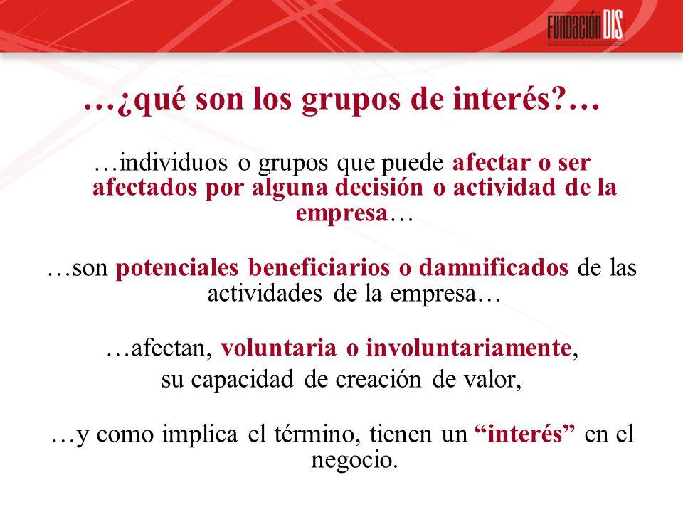 …¿qué son los grupos de interés …