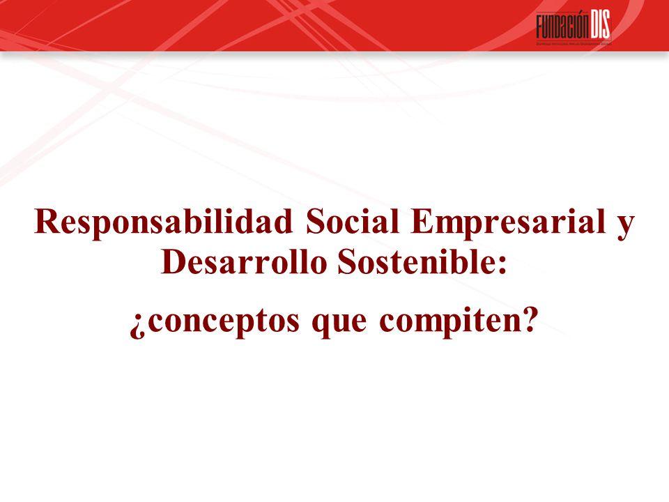 Responsabilidad Social Empresarial y Desarrollo Sostenible: