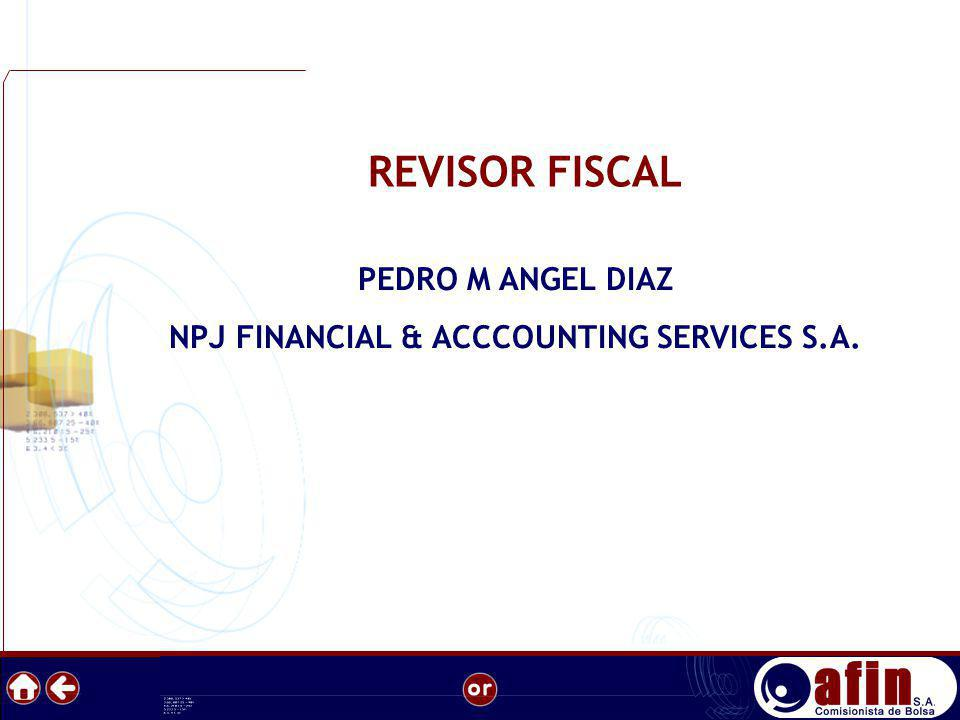 NPJ FINANCIAL & ACCCOUNTING SERVICES S.A.