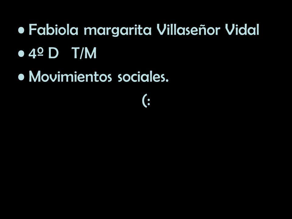 Fabiola margarita Villaseñor Vidal