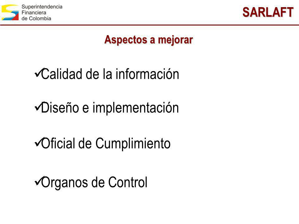 Calidad de la información Diseño e implementación