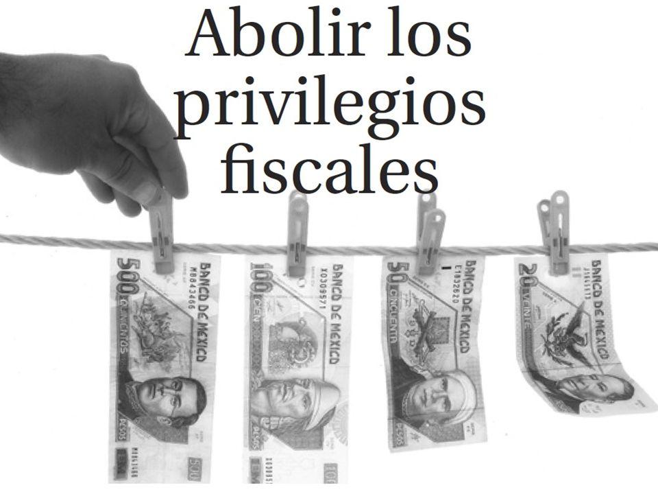 Cancelar Privilegios fiscales