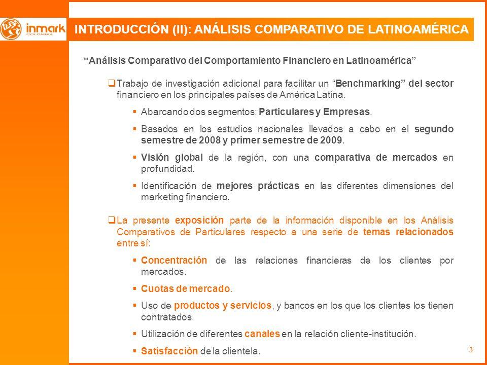 INTRODUCCIÓN (II): ANÁLISIS COMPARATIVO DE LATINOAMÉRICA