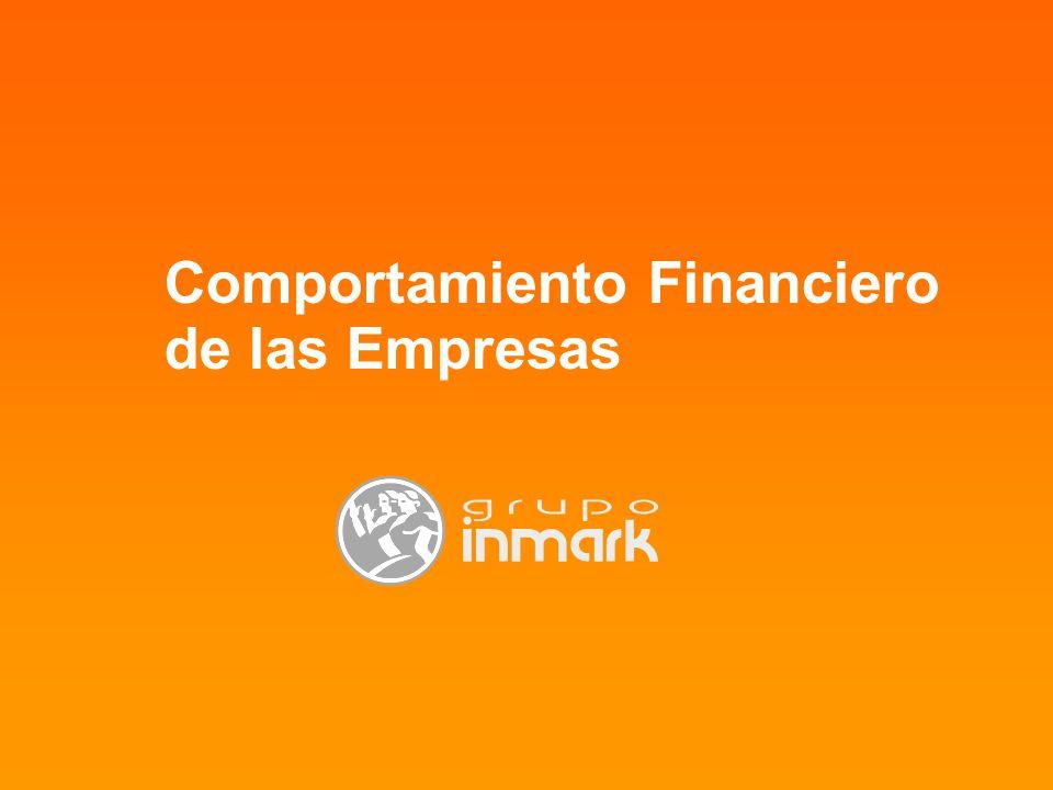 Comportamiento Financiero de las Empresas