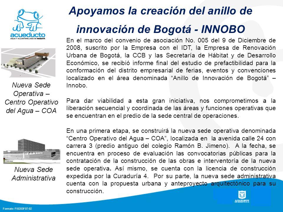 Apoyamos la creación del anillo de innovación de Bogotá - INNOBO
