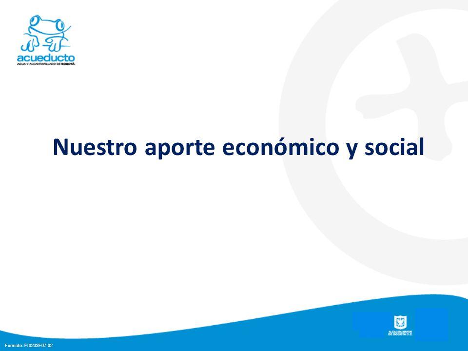 Nuestro aporte económico y social