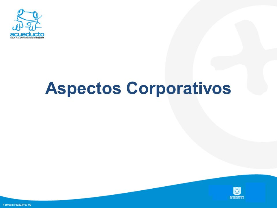 Aspectos Corporativos