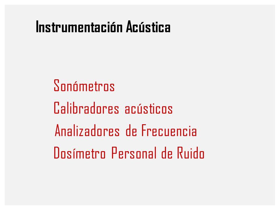 Instrumentación Acústica