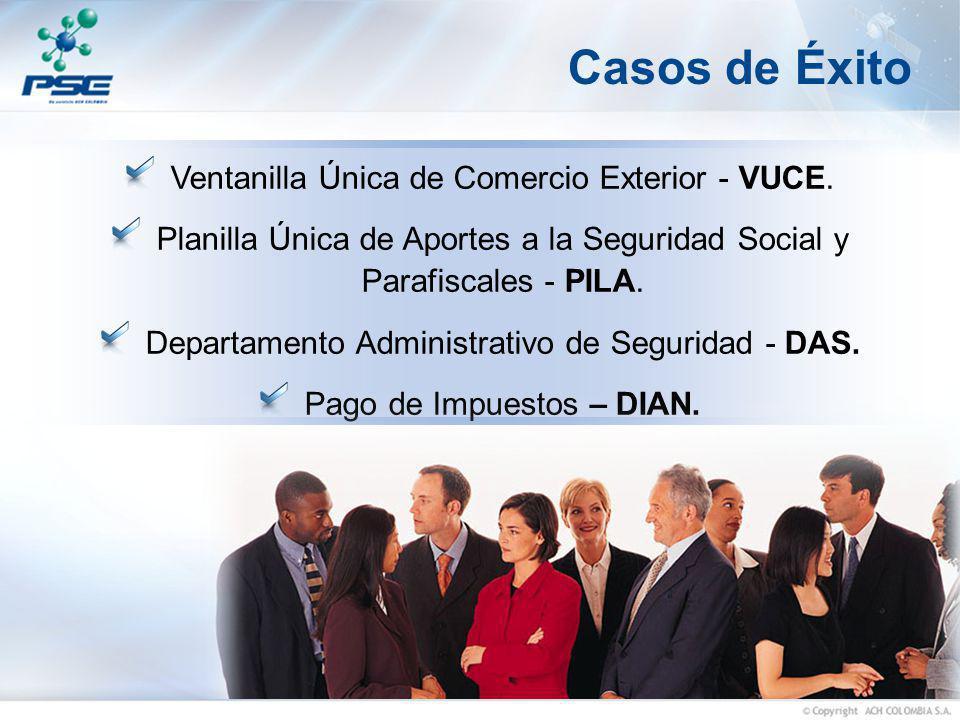 Casos de Éxito Ventanilla Única de Comercio Exterior - VUCE.
