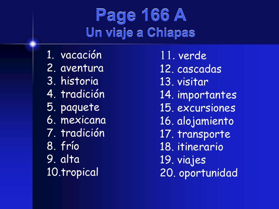 Page 166 A Un viaje a Chiapas
