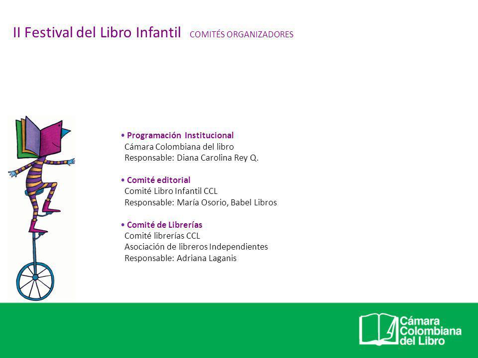 II Festival del Libro Infantil COMITÉS ORGANIZADORES