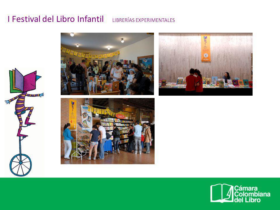 I Festival del Libro Infantil LIBRERÍAS EXPERIMENTALES