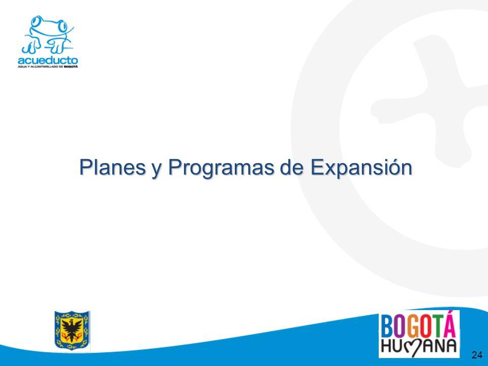 Planes y Programas de Expansión