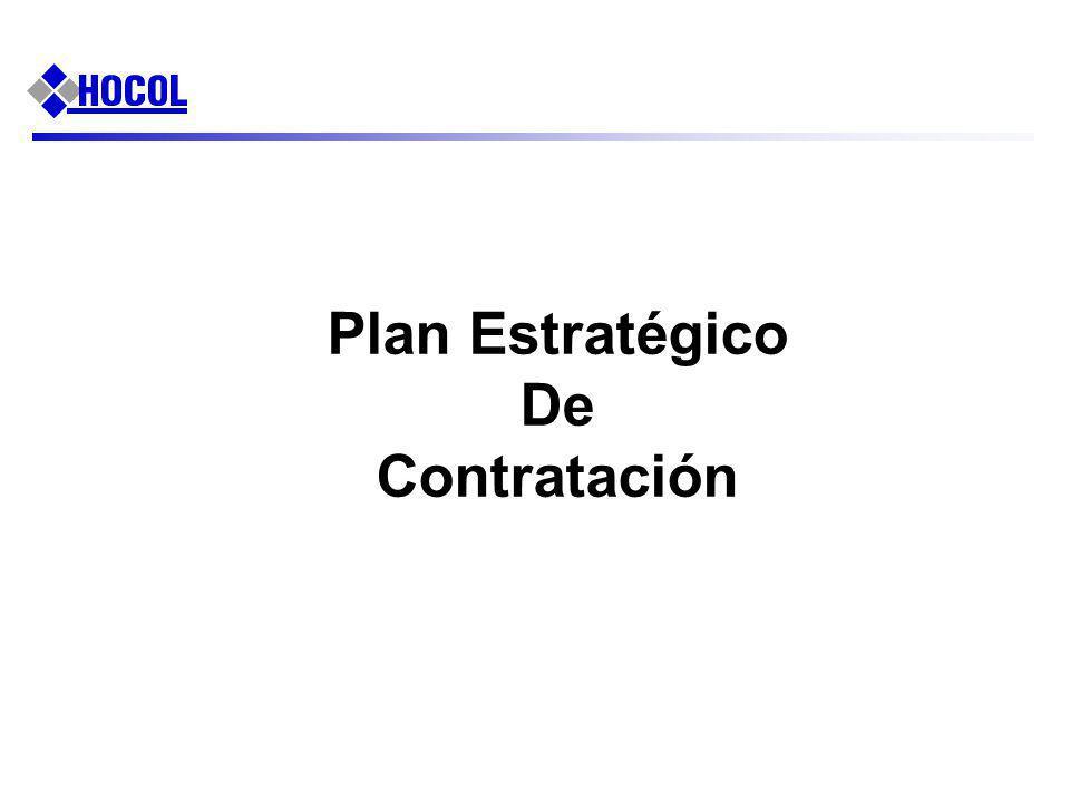 Plan Estratégico De Contratación