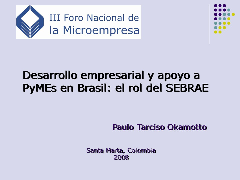 Desarrollo empresarial y apoyo a PyMEs en Brasil: el rol del SEBRAE