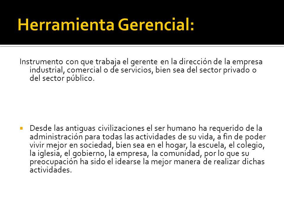 Herramienta Gerencial:
