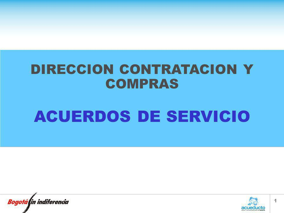 DIRECCION CONTRATACION Y COMPRAS