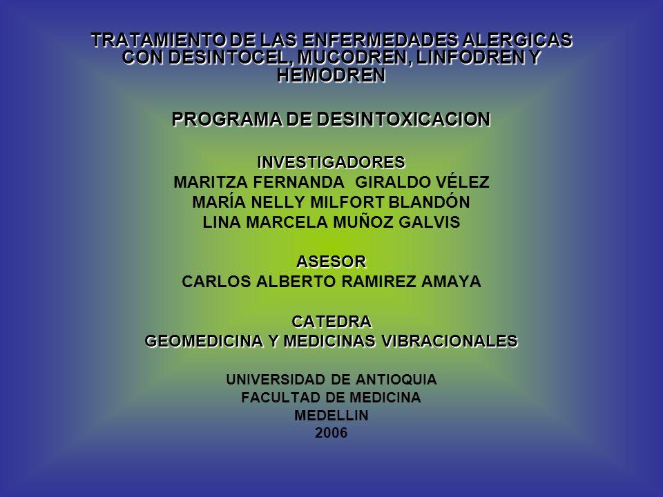 PROGRAMA DE DESINTOXICACION