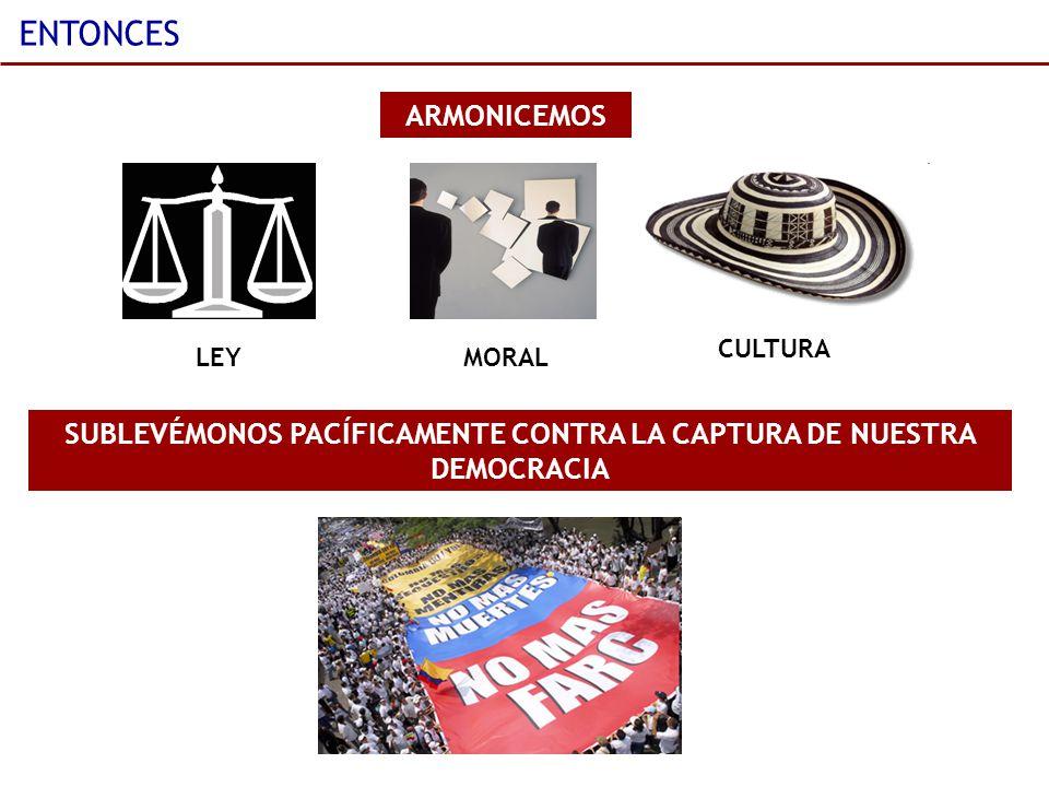 SUBLEVÉMONOS PACÍFICAMENTE CONTRA LA CAPTURA DE NUESTRA DEMOCRACIA
