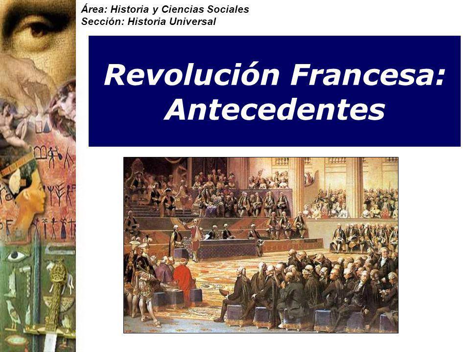 Revolución Francesa: Antecedentes