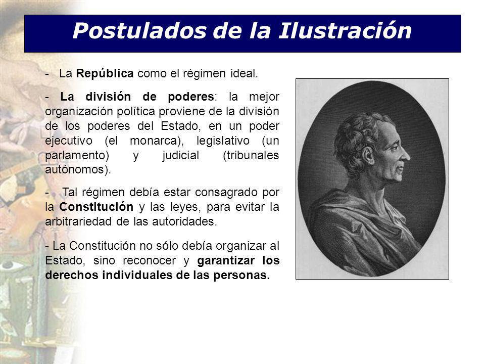 Postulados de la Ilustración