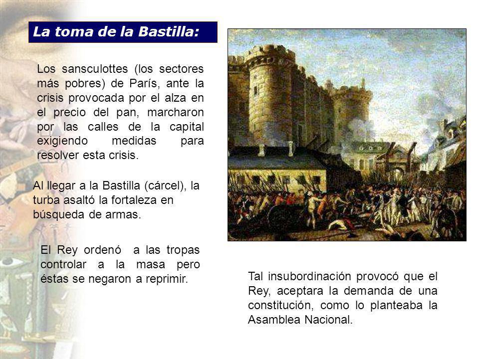 La toma de la Bastilla: