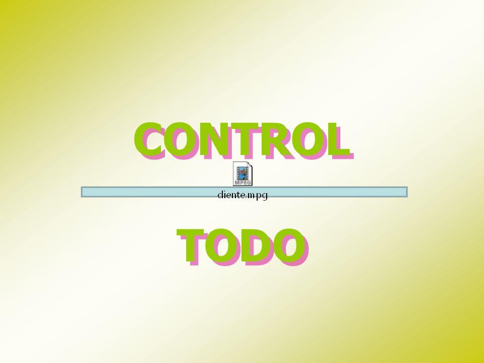 CONTROL TODO