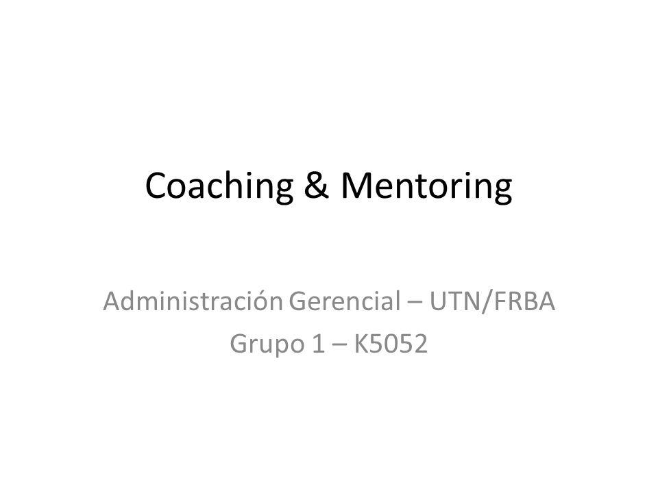 Administración Gerencial – UTN/FRBA