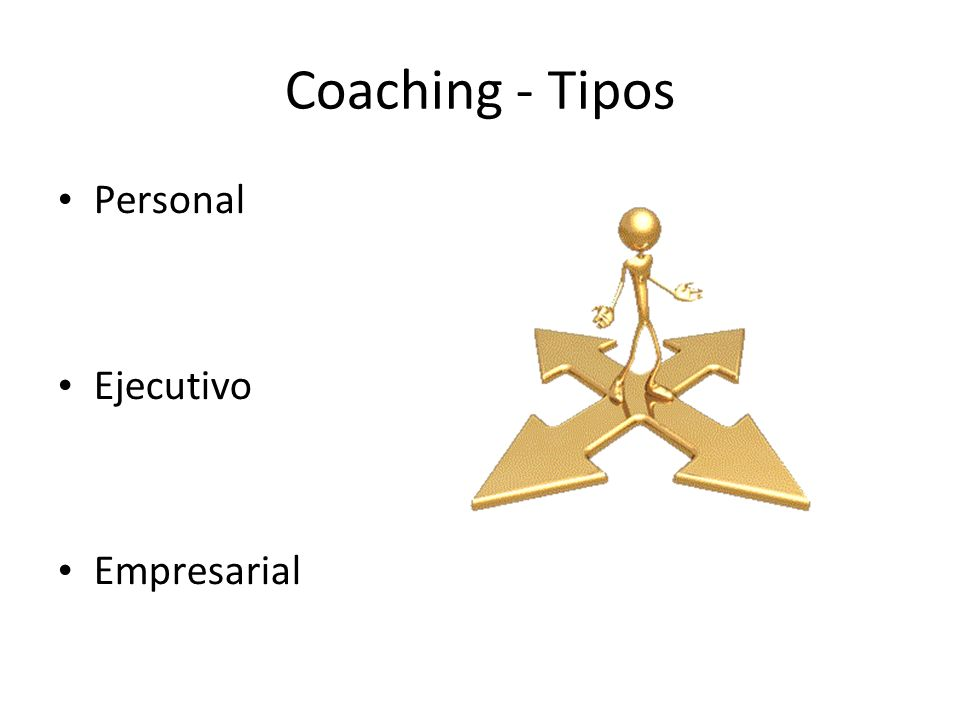Coaching - Tipos Personal Ejecutivo Empresarial