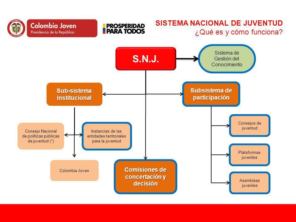 SISTEMA NACIONAL DE JUVENTUD ¿Qué es y cómo funciona