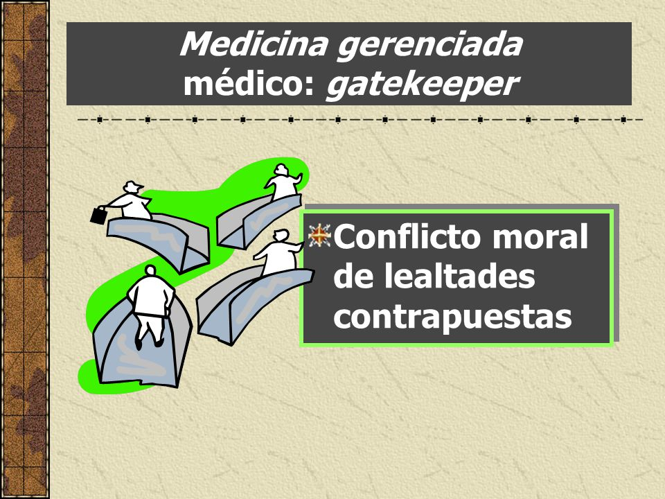 Medicina gerenciada médico: gatekeeper