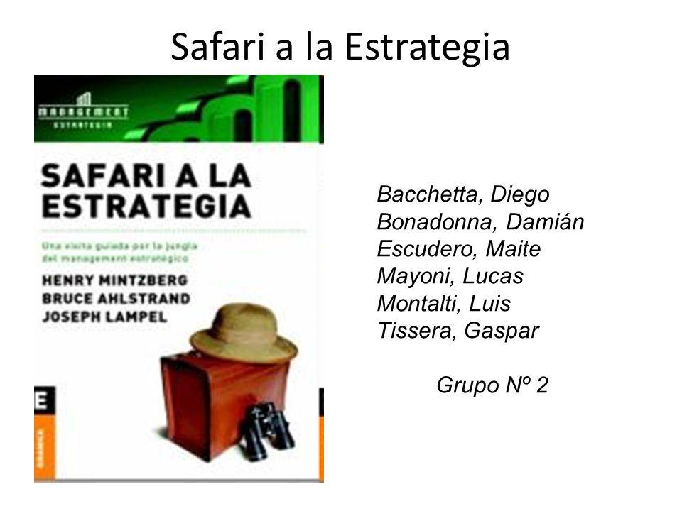 Safari a la Estrategia Bacchetta, Diego Bonadonna, Damián