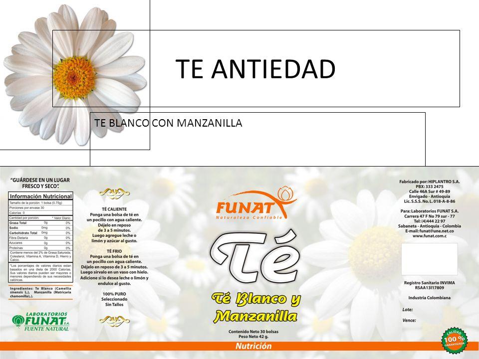 TE ANTIEDAD TE BLANCO CON MANZANILLA 16/02/11