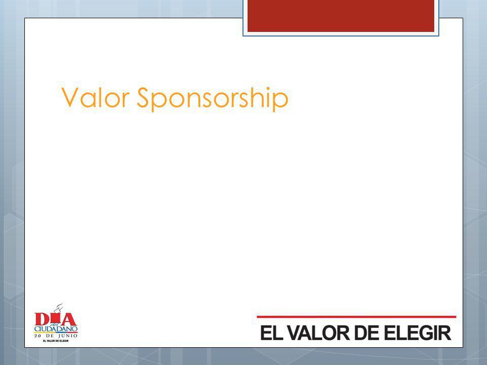 Valor Sponsorship