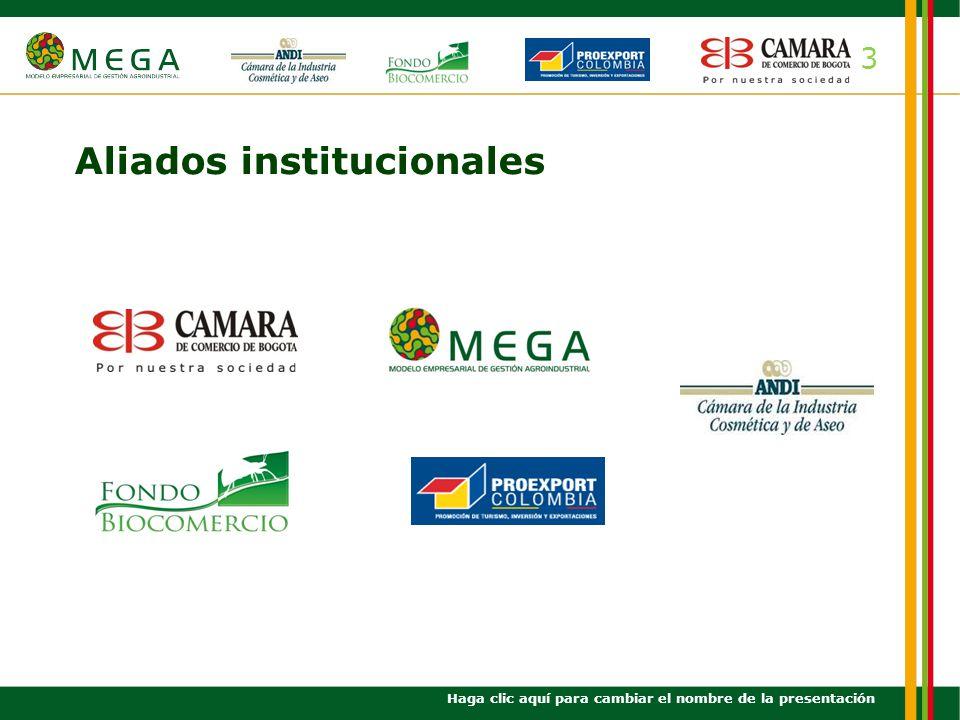 Aliados institucionales