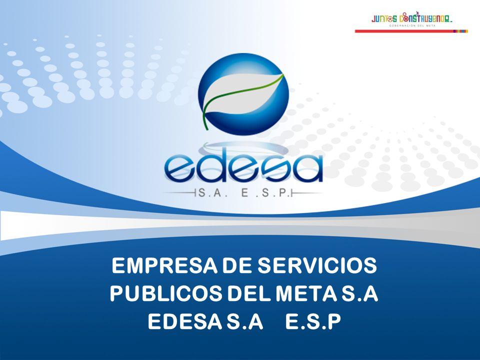 EMPRESA DE SERVICIOS PUBLICOS DEL META S.A EDESA S.A E.S.P