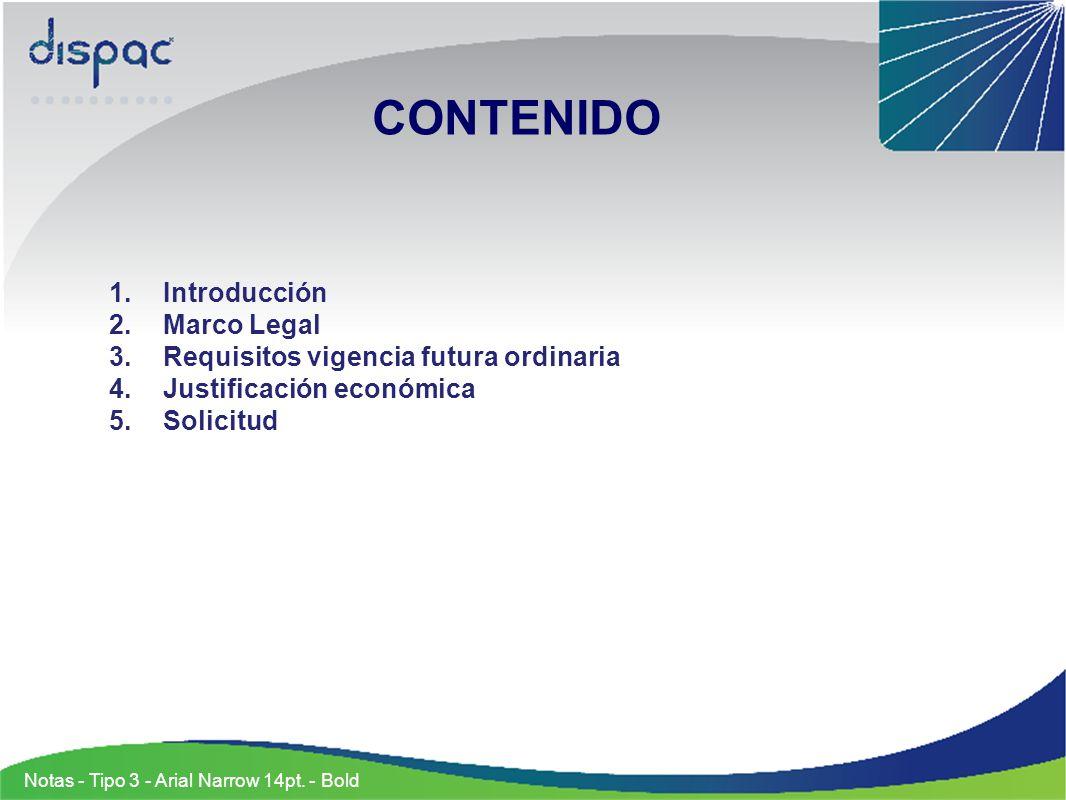 CONTENIDO Introducción Marco Legal
