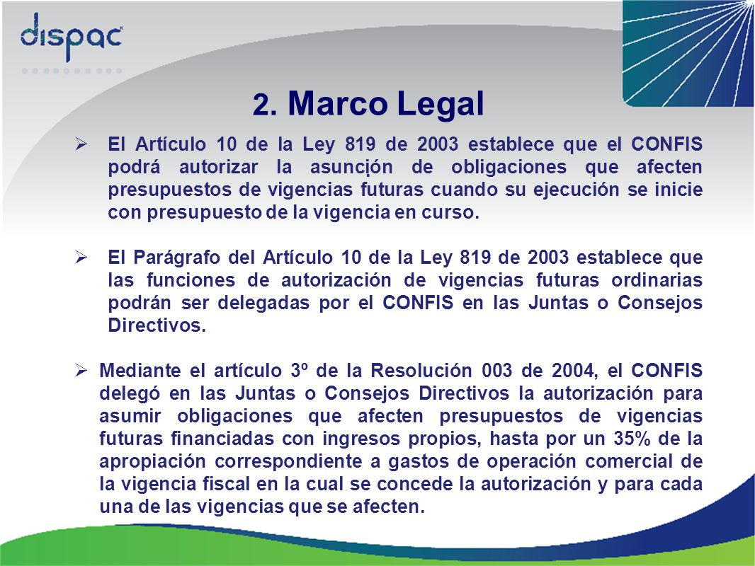 2. Marco Legal .
