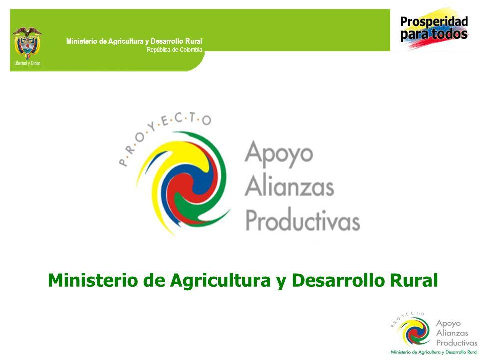 Ministerio de Agricultura y Desarrollo Rural