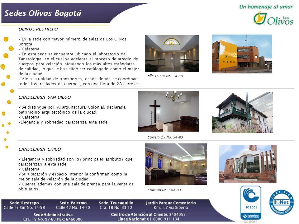 Sedes Olivos Bogotá OLIVOS RESTREPO
