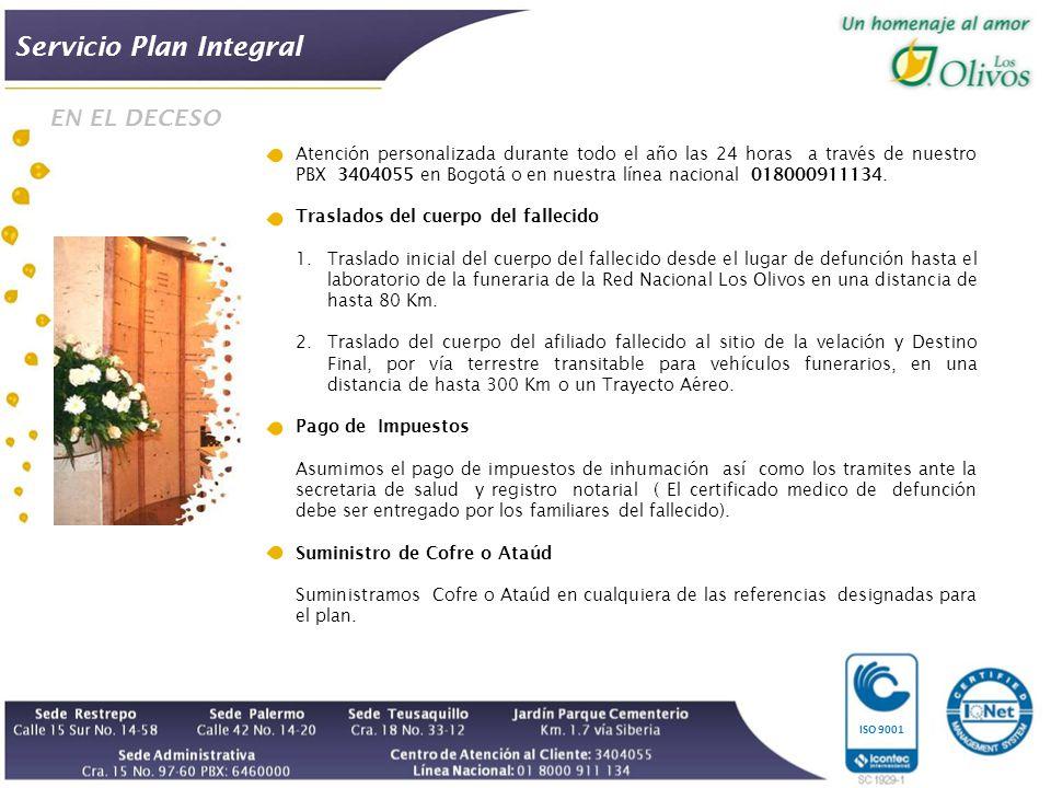 Servicio Plan Integral