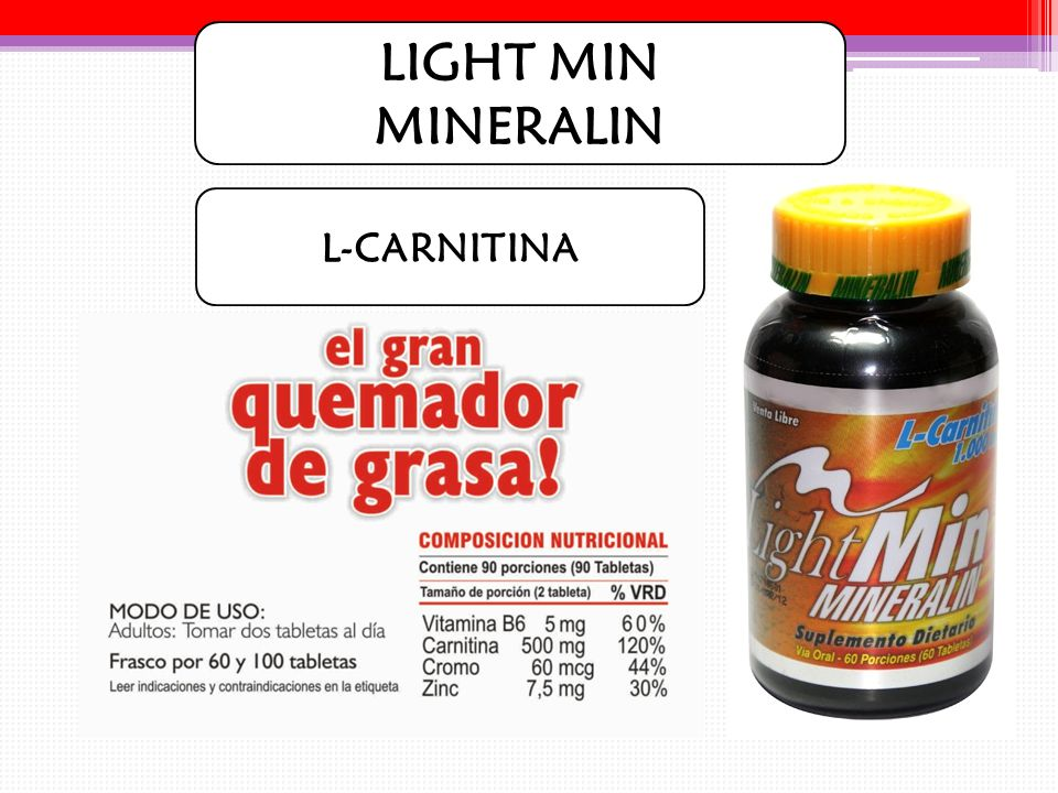 LIGHT MIN MINERALIN L-CARNITINA