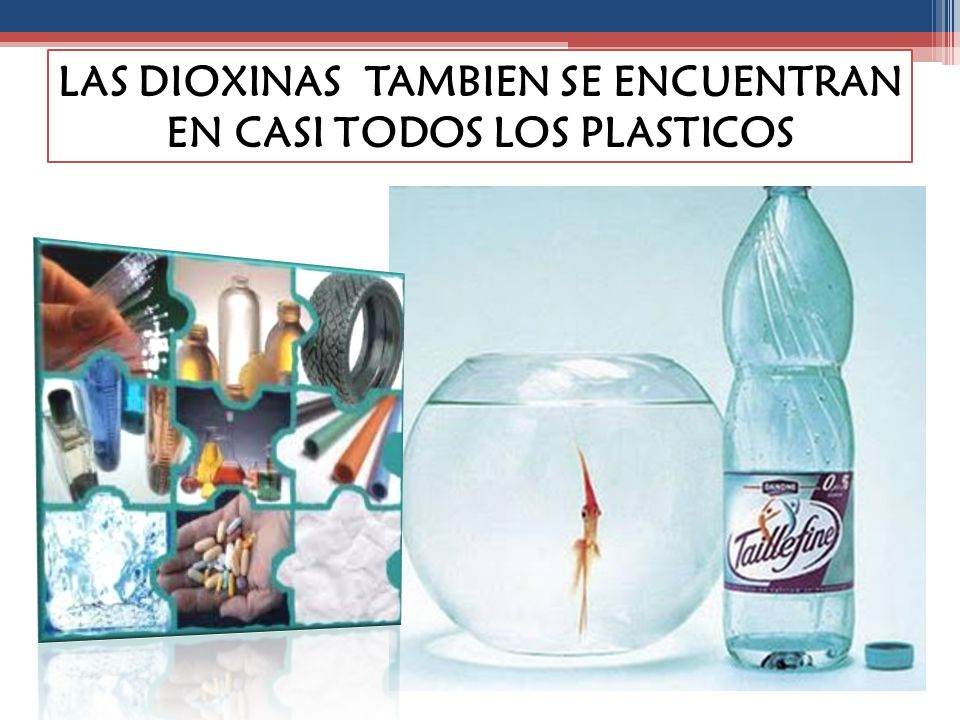 LAS DIOXINAS TAMBIEN SE ENCUENTRAN EN CASI TODOS LOS PLASTICOS