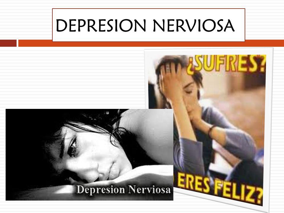 DEPRESION NERVIOSA