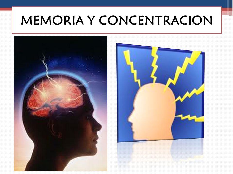 MEMORIA Y CONCENTRACION